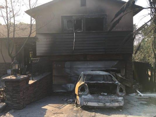 T O House Damaged