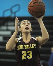 Alicia Porter has been a dominant inside presence for Simi Valley.