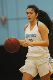 Alyssa Marin has taken over the point guard duties in her junior season at Camarillo, using her passing and scoring abilities to lead a talented Scorpions team.