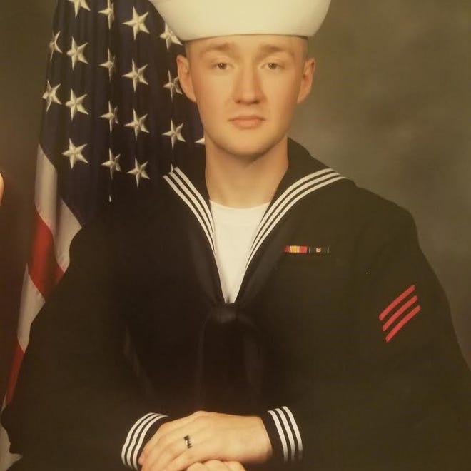 U.S. Navy Seaman Recruit Richard L. Miles