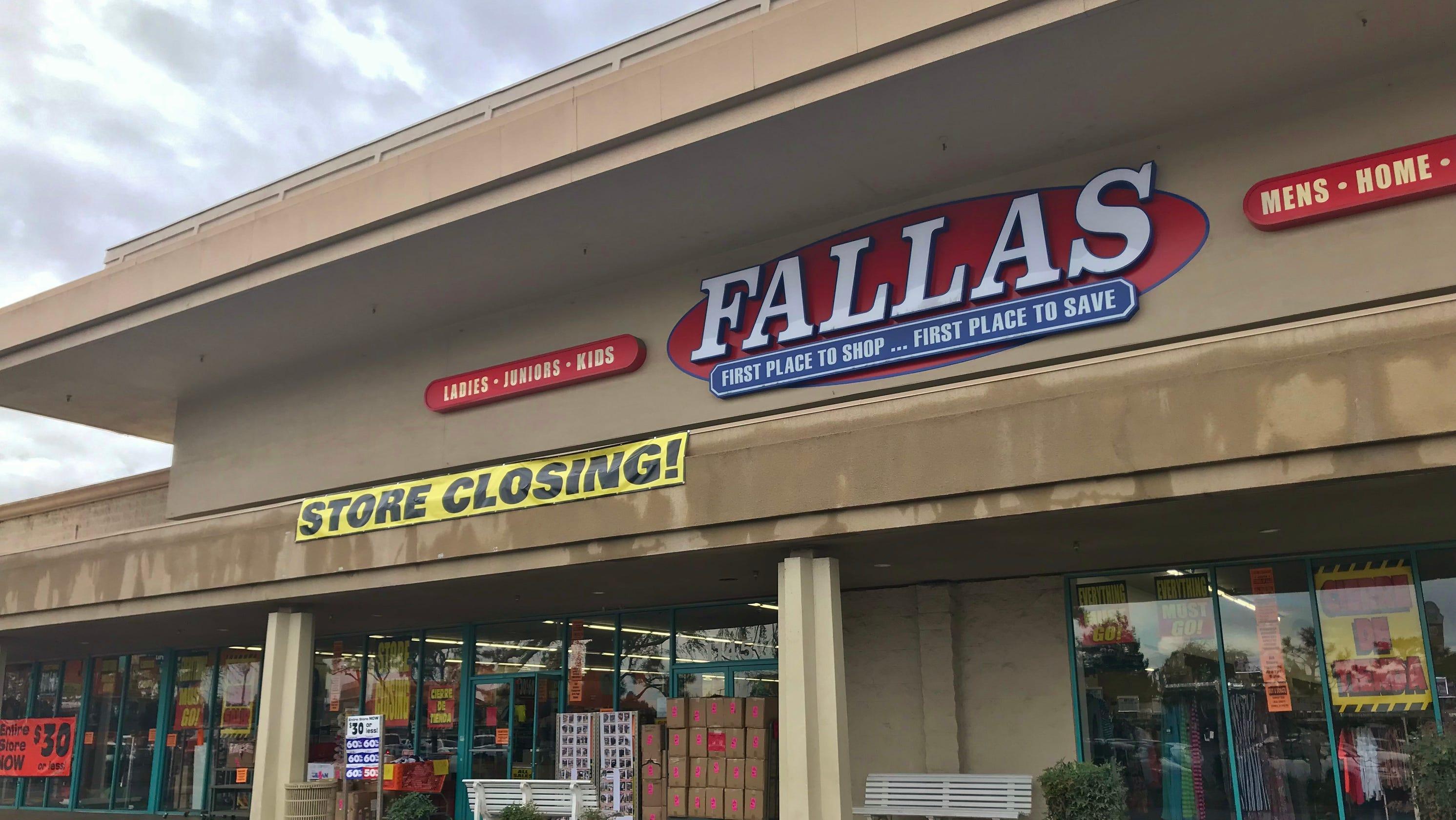 9e61706d8bf Discounter Fallas Stores closes in Visalia