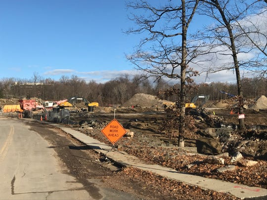 The new Wegmans grocery store is under construction at 106-110 Corporate Park Drive in Harrison.