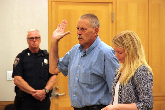 Gerald Munson pleaded guilty to grand larceny at the Westchester County Courthouse on Sept. 12.