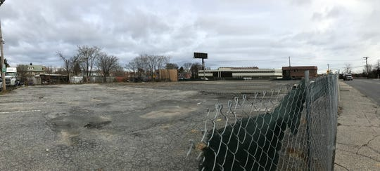 The empty lot at 26 Garden St. photographed Nov. 28. Bronx-based The Stagg Group plans a 14-story, mixed-use building for the site.