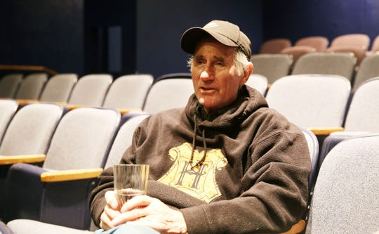 Jim Dale, narrator for the Harry Potter books, talks about his upcoming one-man show while at the Schoolhouse Theatre in Croton Falls Nov. 28, 2018.