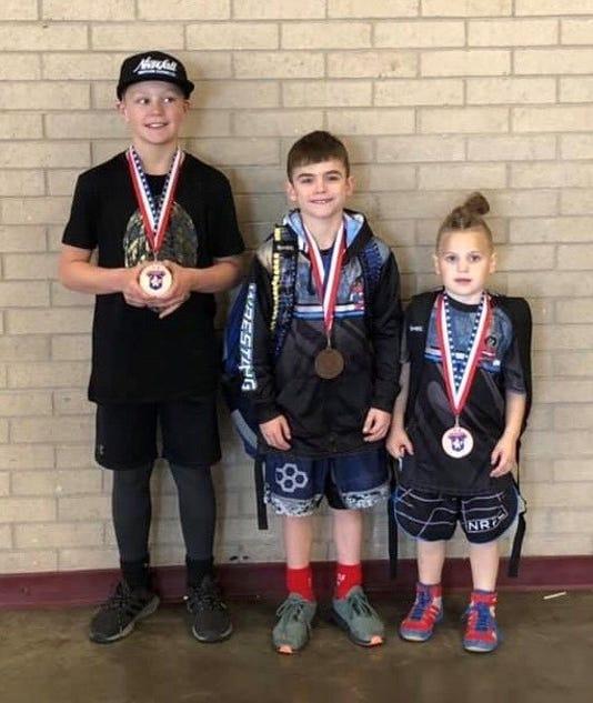 Wrestling youth winners