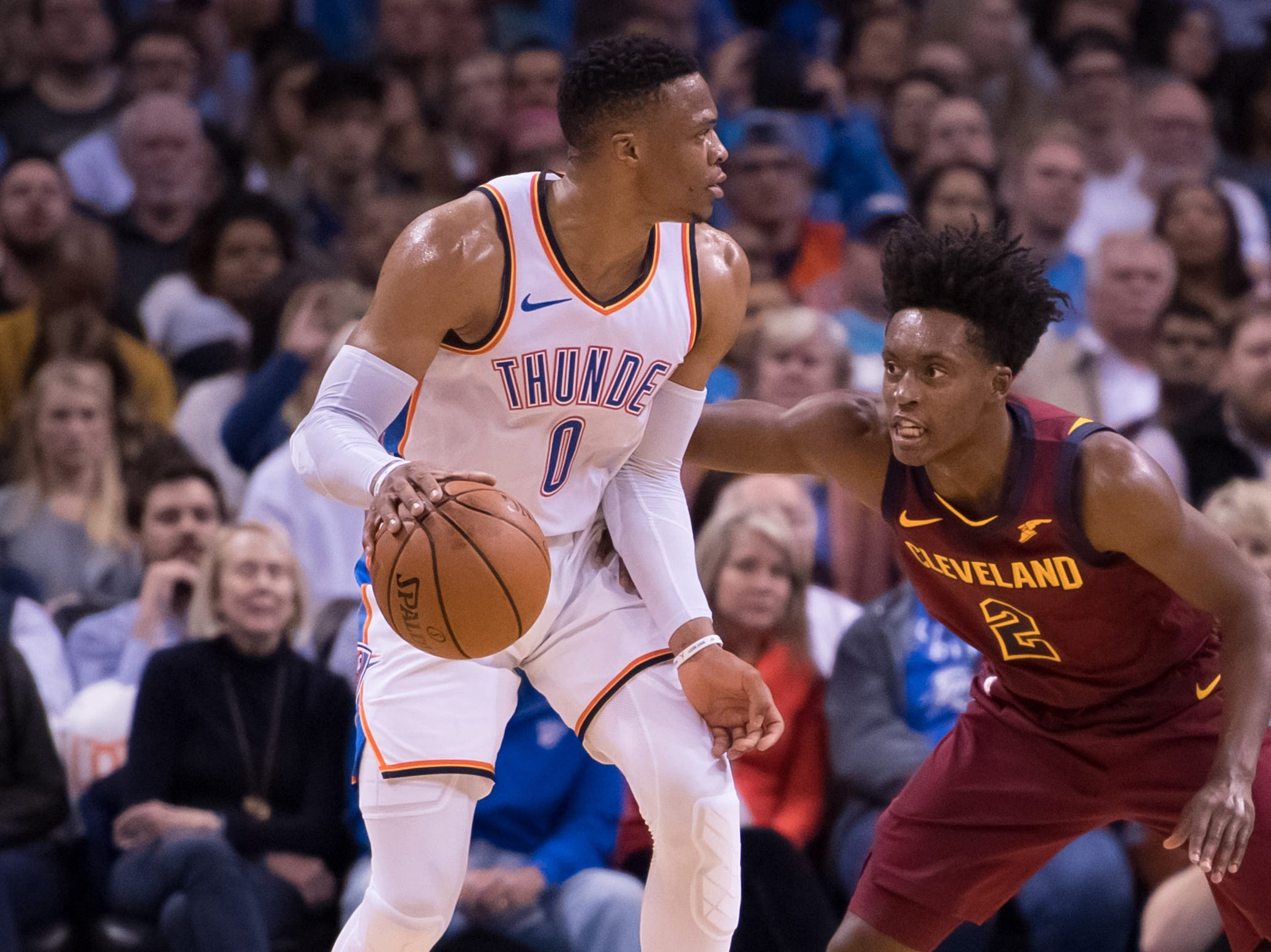 16. Russell Westbrook, Thunder (Nov. 28): 23 points, 19 rebounds, 15 assists in 100-83 win over Cavaliers (third of season).