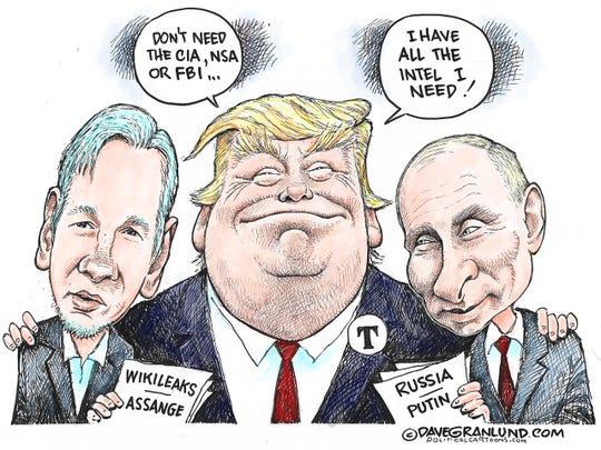 Trump and intel briefings