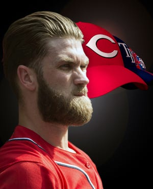 Bryce Harper turned down a 10-year, $300 million offer from the Nationals.
