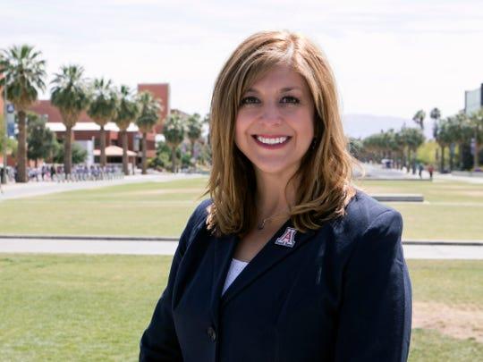 Kasey Urquidez, dean of undergrad admissions at the University of Arizona.