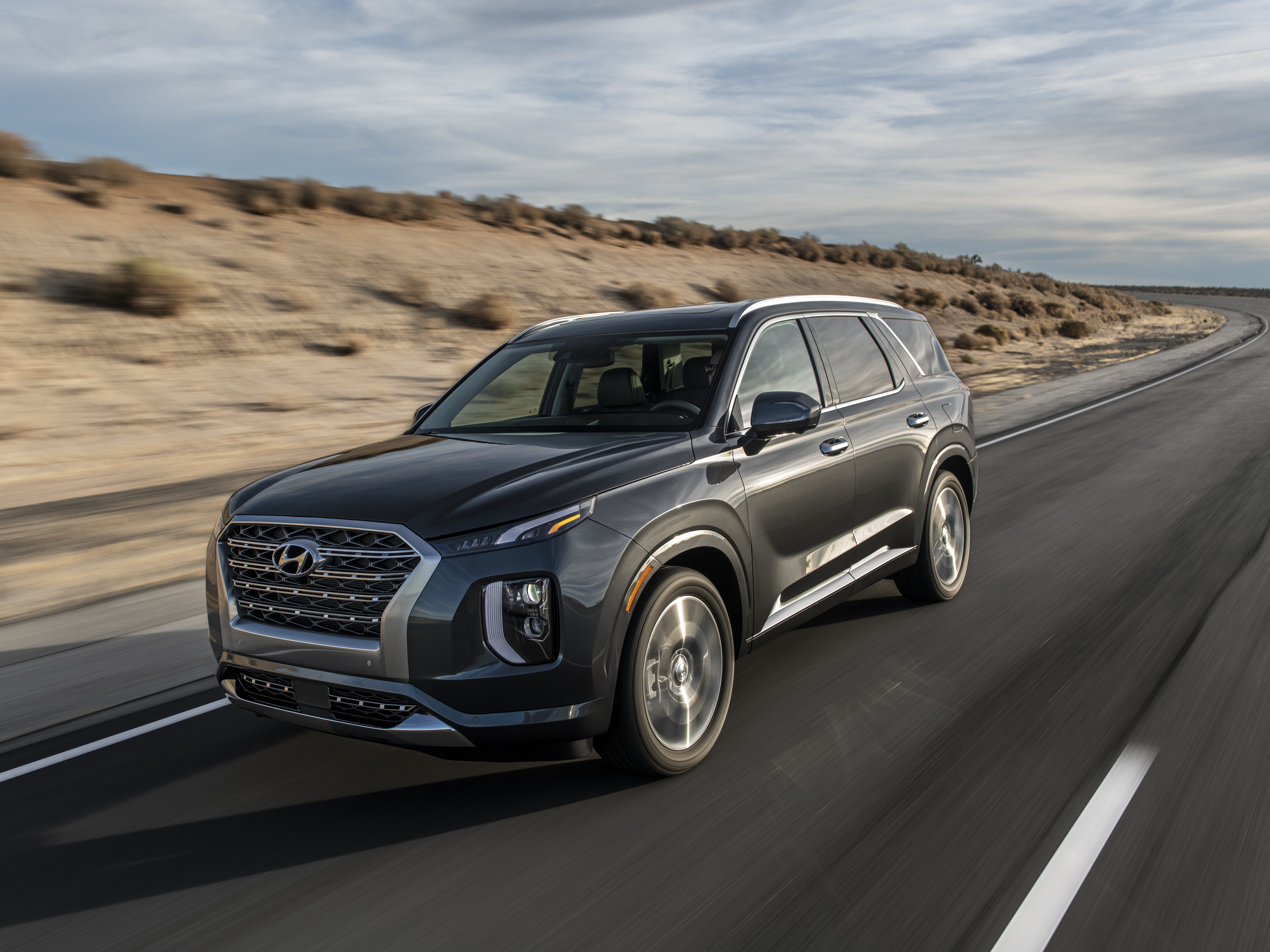 The 2020 Hyundai Palisade SUV.