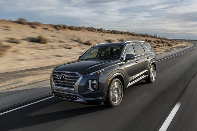 The 2020 Hyundai Palisade SUV.