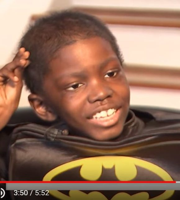 Cameron Scott reflects on the last year in his favorite superhero costume.