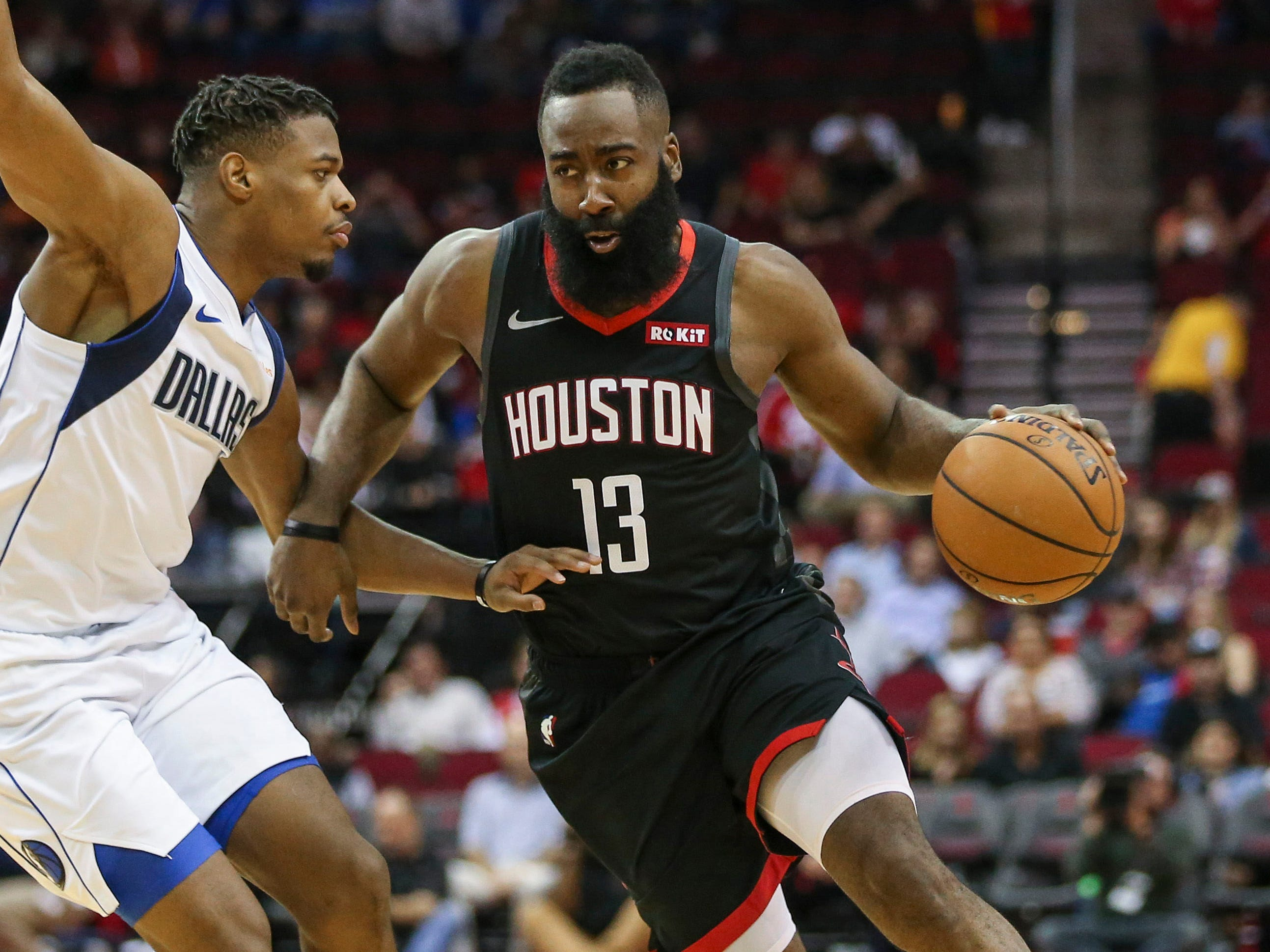 17. James Harden, Rockets (Nov. 28): 25 points, 17 assist, 11 rebounds in 128-108 loss to Mavericks.