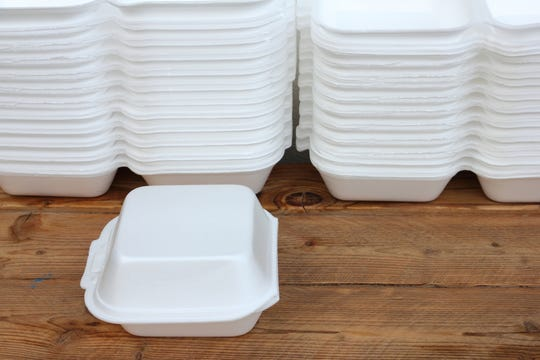 The Oregon House voted 29-29 to ban polystyrene foam takeout containers and cups. The bill may come back to the floor for reconsideration.