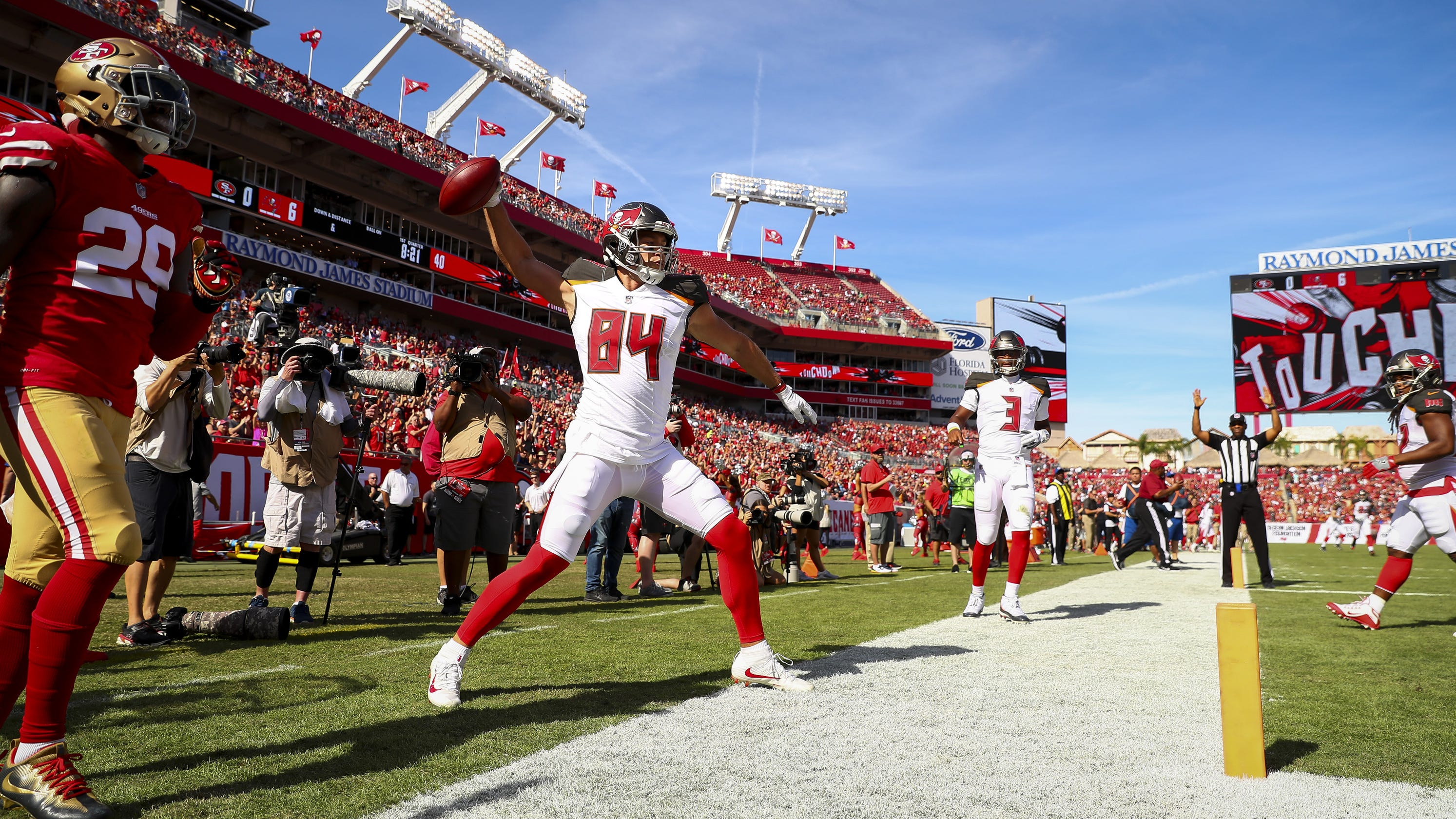 Buccaneers offering free tickets to Panthers game after smallest home crowd  in eight years 76c43f257ee