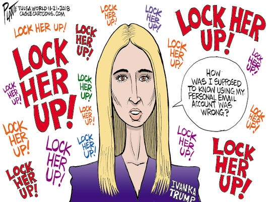 2e3be06e3a6 What s good for Hillary Clinton is good for Ivanka Trump  Readers