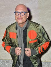 """Howie Mandel worked the crowd at """"Christmas at Rockefeller Center."""""""