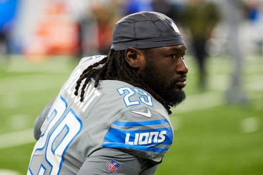 Detroit Lions running back LeGarrette Blount isn't a fan of Ndamukong Suh.