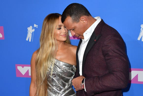 "Jennifer Lopez called Alex Rodriguez her ""twin soul"" at the MTV VMAs in August. Are wedding bells coming?"