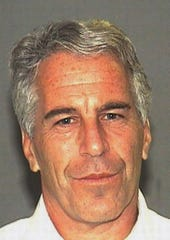 This July 27, 2006, arrest file photo made available by the Palm Beach Sheriff's Office, in Florida, shows Jeffrey Epstein.