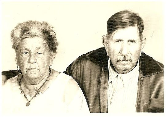 Pedro Marroquin Perez and Maria Amalia Gonzalez Guerra, the paternal great-grandparents of Moises Garza. He has been researching his family's genealogy since 1998.