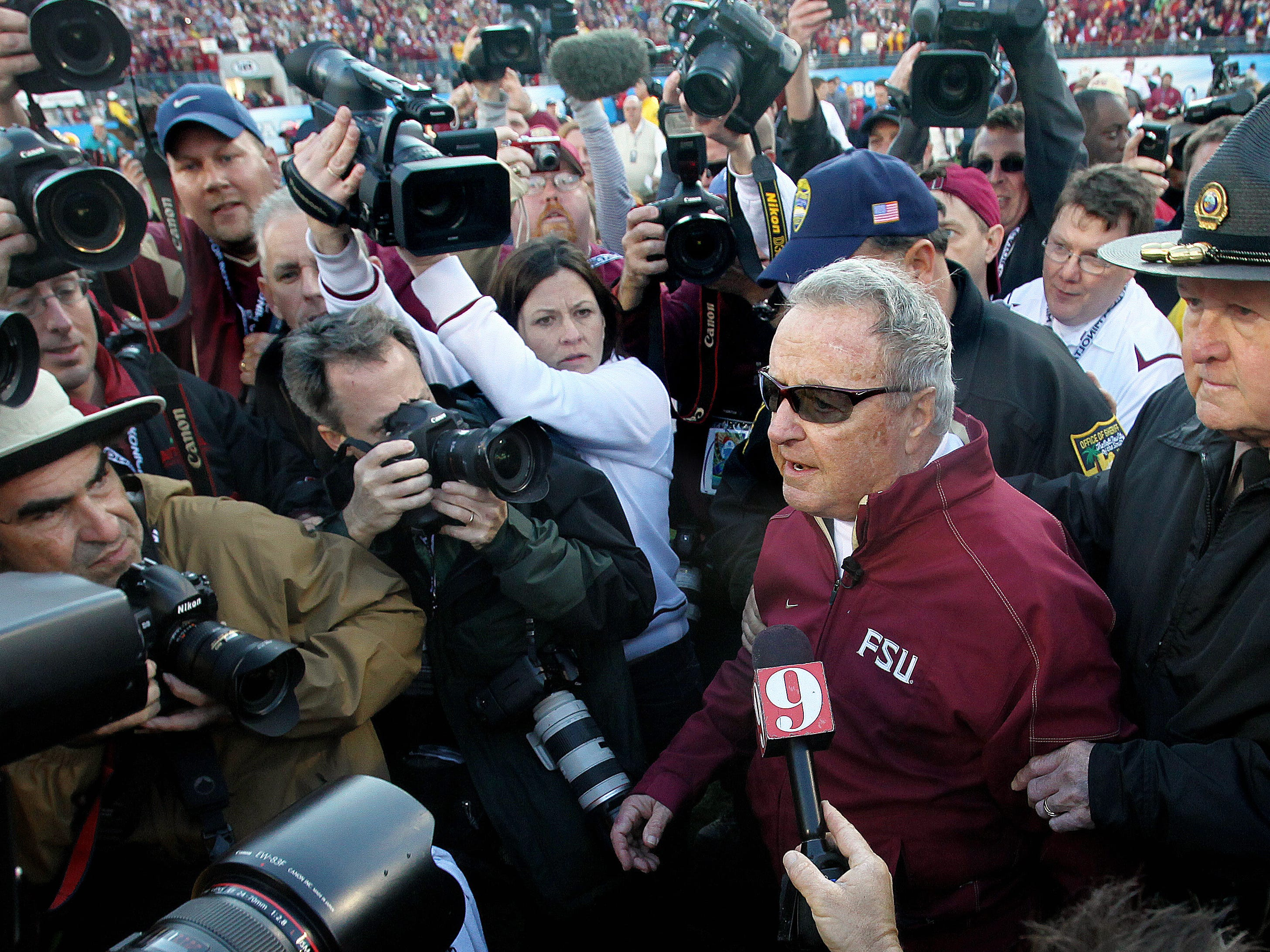 Bobby Bowden usually had a quip or two during interactions with media.