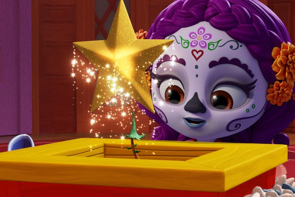 """Super Monsters and the Wish Star"" is available for streaming starting Dec. 7."