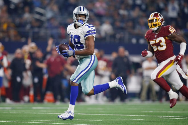 Cowboys wide receiver Amari Cooper outran everyone on a 90-yard touchdown vs. the Redskins on Thanksgiving Day.