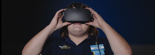 VR training allows Walmart associates to practice their skills before stepping out on the floor.