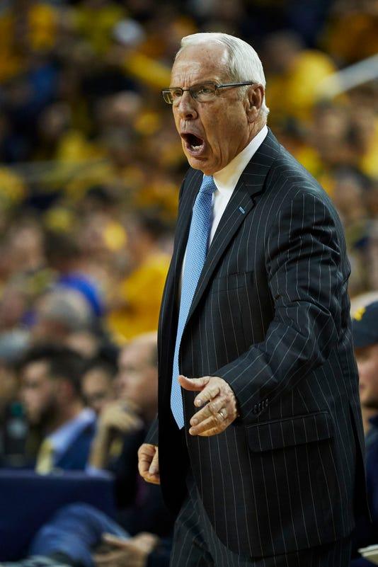 Usp Ncaa Basketball North Carolina Michigan S Bkc Mic United States