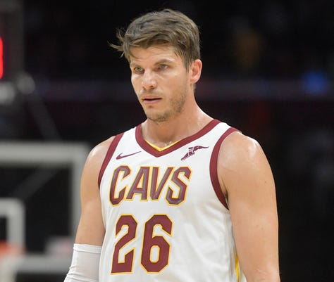 new products 81ab4 b1d99 Cavaliers trade Kyle Korver to Jazz