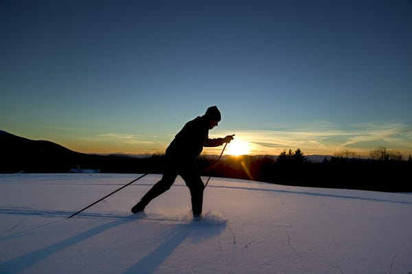 Vermont vacationers can enjoy great skiing and much more in the winter.