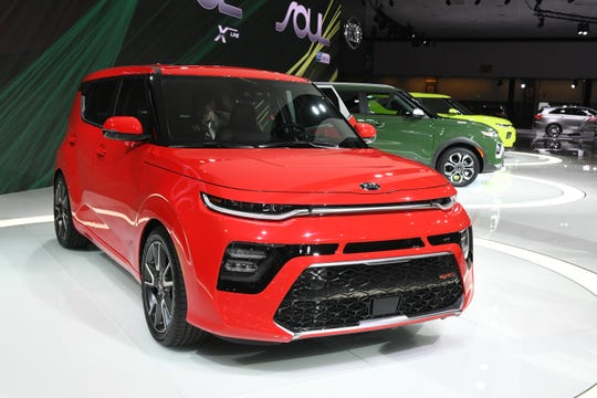 Kia introduced several versions of the Soul, their small crossover.