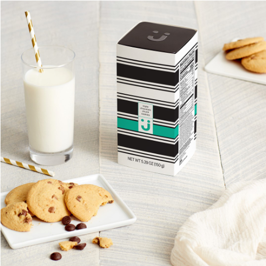 Uniquely J Cookie Tins are great for the holidays.