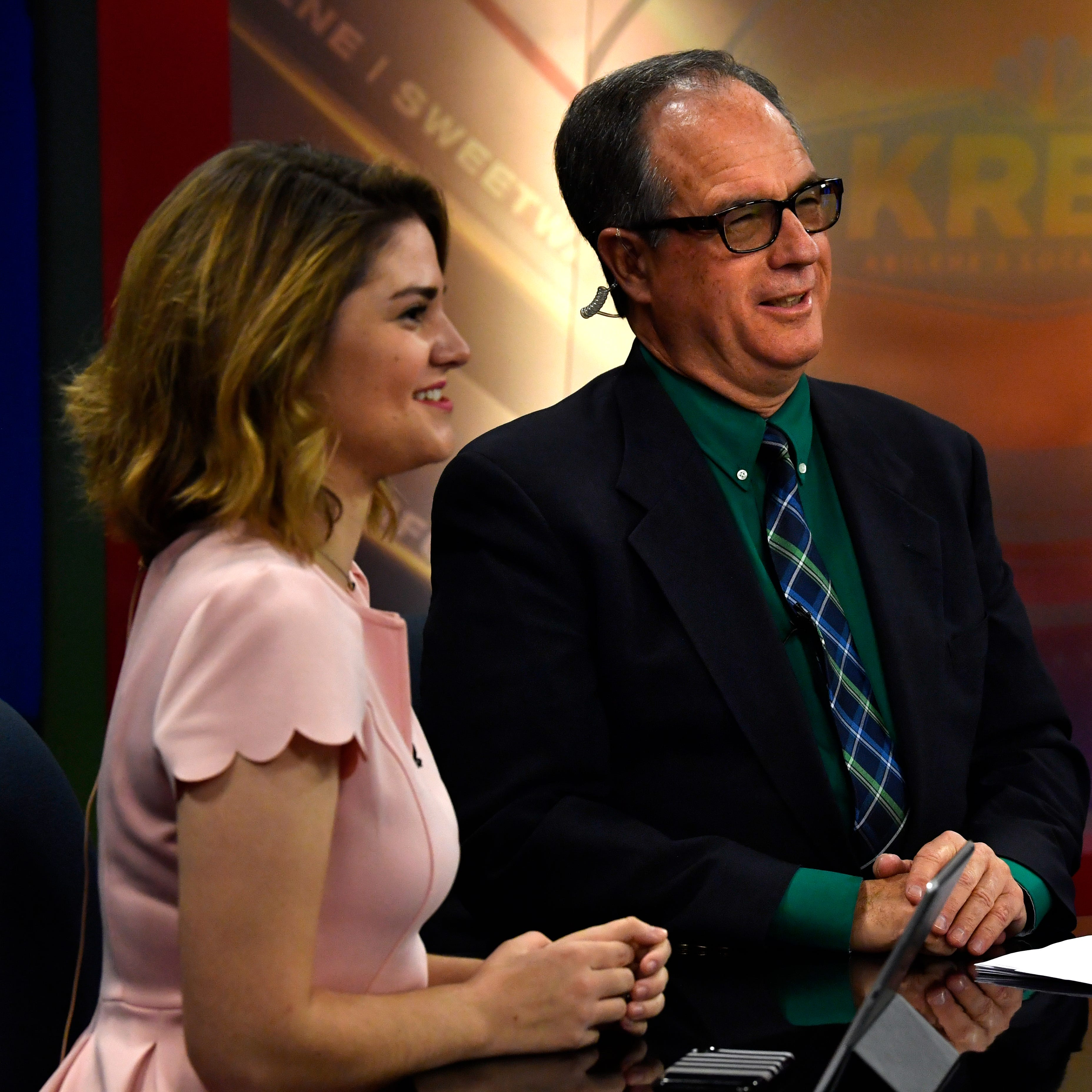 What's cookin' on TV? Bacon hopes to sizzle as KRBC anchor
