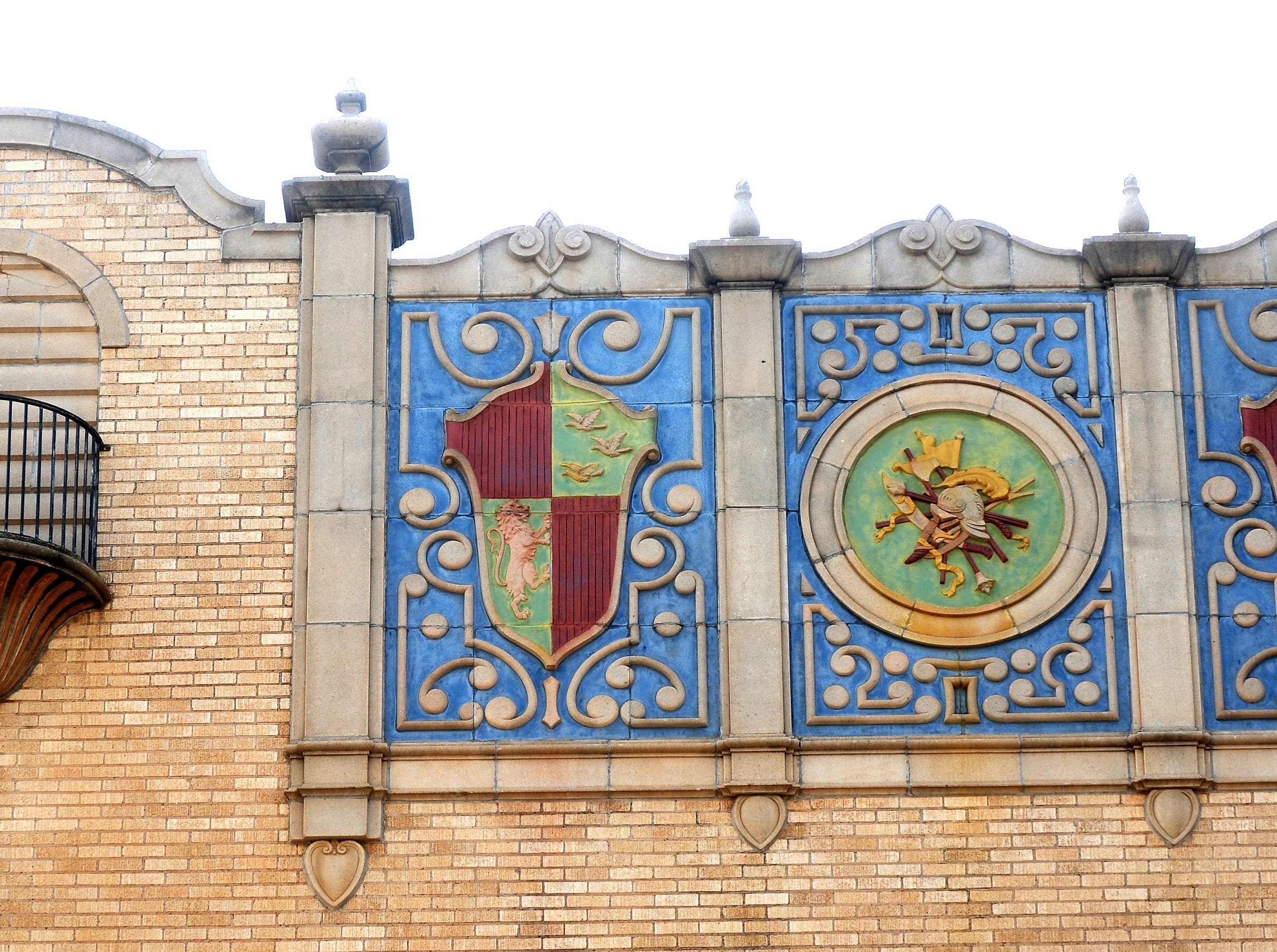 Detail of the Paramount Theatre, designed by David Castle.