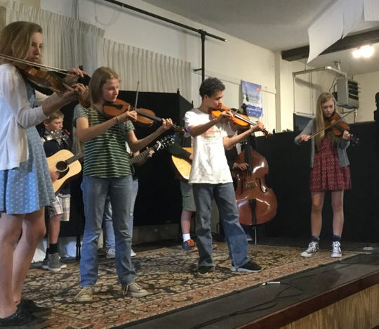 Madison County Arts Council's sponsors Junior Appalachian Musician's (JAM), seen here.