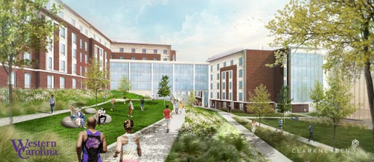 Wcu Res Hall Rendering
