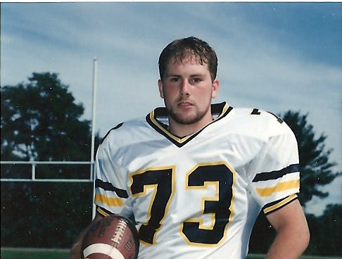 Rick was captain of the football team at Windsor High School his senior year.