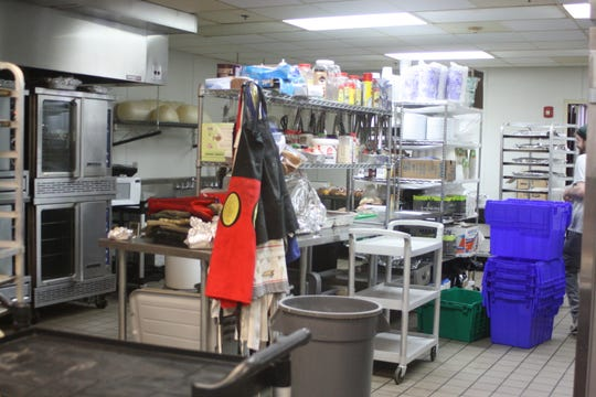 The kitchen of the Rohr Chabad Center for Jewish Student Life on 420 Murray Hill Road in Vestal.