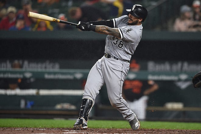Omar Narvaez was acquired from the White Sox by the Seattle Mariners and apparently will be their opening day catcher.