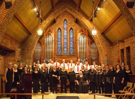 The Amabile Choir of Bainbridge Island perform their annual holiday concerts Dec. 7 and 8 at St. Barnabas Episcopal Church.