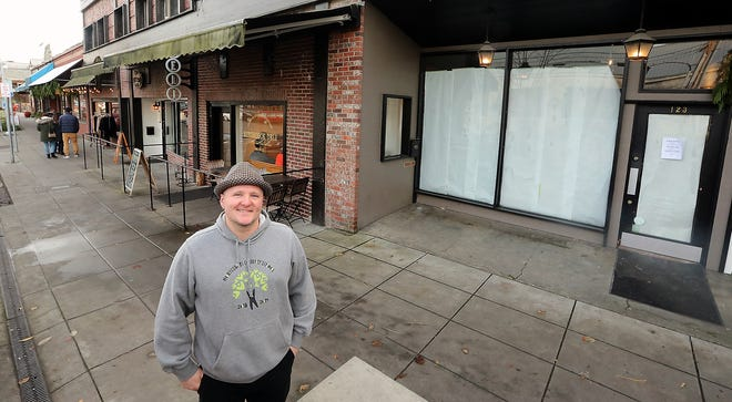 Brendan McGill is opening Bar Hitchcock near his existing Hitchcock restaurant and Hitchcock Deli in Winslow.