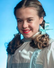 "Emily Fox plays Dorothy in BPA's production of ""The Wizard of Oz."""
