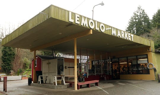 The new Christmas House, at the old Lemolo Market location in North Kitsap.