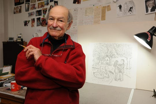 "Brookfield resident and ""New Yorker"" cartoonist Ed Koren has published a collection of his work titled ""Into the Wild."""
