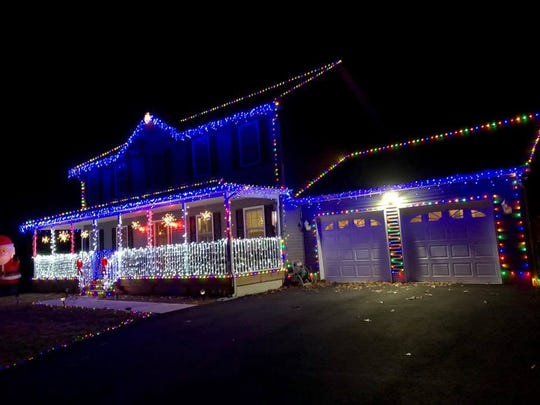 The Landante family is new to Tabernacle, but they're making a nice first - Christmas Lights 2018: Find Best NJ Home Displays Using Google Map