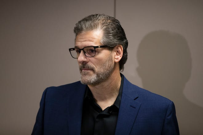 Former Flyers general manager Ron Hextall spoke with the media Friday to tell his side of the story.