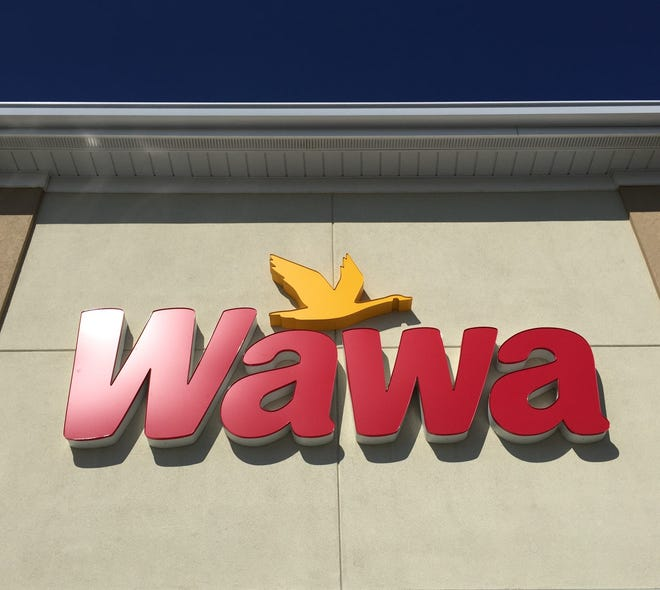 A Wawa sign is seen in this file photo.